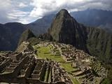 Machu Picchu Ruins Metal Print by Diego Casadamon