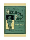 Adventures of Huckleberry Finn Kunst på metall