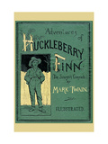 Adventures of Huckleberry Finn Konst på metall