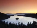 California/Nevada, Lake Tahoe, Emerald Bay, USA Metal Print by Michele Falzone