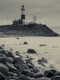 New York, Long Island, Montauk, Montauk Point Lighthouse, USA Metal Print by Walter Bibikow