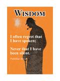 Wisdom Plakát
