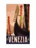 Venezia, c.1920 Metal Print