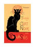 Tournée du Chat Noir avec Rodolphe Salis, 1896 Reproduction sur métal par Théophile Alexandre Steinlen