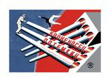 Battleship Potemkin Metal Print by  Stenberg Brothers