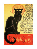 Reopening of the Chat Noir Cabaret, 1896 Metal Print by Théophile Alexandre Steinlen