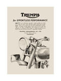 Triumph of Effortless Performance Metal Print