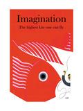 Fantasi, på engelsk Poster