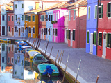Burano, Venice, Italy Metal Print by Alan Copson