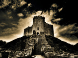Cardiff Castle 1 Metal Print by Clive Nolan