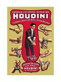 Houdini: The World's Handcuff King and Prison Breaker Arte sobre metal