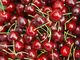 Cherries, Ripponvale, near Cromwell, Central Otago, South Island, New Zealand Lámina en metal por David Wall