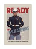 Join U.S. Marines Metal Print by  Sundblom