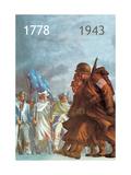 1778/1943 Metal Print