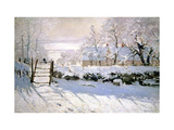 The Magpie, 1869 Metal Print by Claude Monet