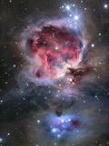 Orionnebulosan Konst på metall
