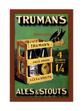 Truman's Ales and Stouts Metal Print by Frances Smith