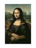 Mona Lisa, c.1507 Metal Print by  Leonardo da Vinci