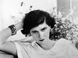 Early Undated Photo of French Fashion Designer Coco Chanel Metal Print