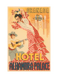 Hotel Alhambra - Palace Metal Print