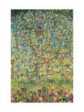 Pommier Reproduction sur métal par Gustav Klimt