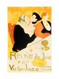 Reine De Joie, 1892 Metal Print by Henri de Toulouse-Lautrec