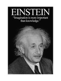 Einstein Metal Print by Wilbur Pierce