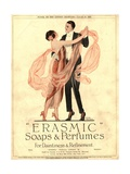Erasmic Soap Perfume, Evening-Dress Dancing, UK, 1920 Metal Print
