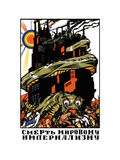 Kill The Imperialistic Monster Metal Print