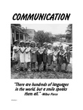 Communication Metal Print by Wilbur Pierce