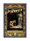 "Edgar Allen Poe's ""The Raven"""""" Metal Print"