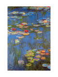 Water Lilies No. 3 Metal Print by Claude Monet