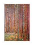 Tannenwald Metal Print by Gustav Klimt