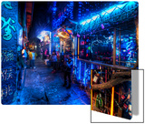 Late NIght in Old China Metal Print by Trey Ratcliff