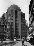 The Advertiser Skyscraper in Hannover, 1929 Metal Print by  Scherl