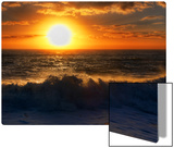 The Giant Sun Sinks into the Tasman Sea Metal Print by Trey Ratcliff