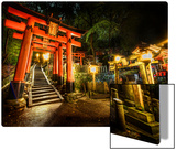 Midnight Adventure in the Japanese Cemetery Metal Print by Trey Ratcliff