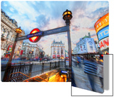 The London Underground - Piccadilly Metal Print by Trey Ratcliff