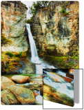 A cool waterfall to relax at during the hike Metal Print by Trey Ratcliff