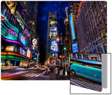 Times Square at Dusk Metal Print by Trey Ratcliff