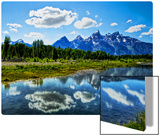 The Grand Tetons Metal Print by Trey Ratcliff