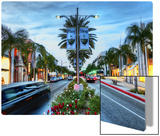 Play in Beverly Hills, Shop in Beverly Hills Metal Print by Trey Ratcliff