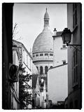 Sacre-Cœur Basilica - Montmartre - Paris - France Metal Print by Philippe Hugonnard