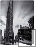 The Edges of the Flatiron Metal Print by Trey Ratcliff