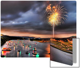 Fourth on Lake Austin Metal Print by Trey Ratcliff