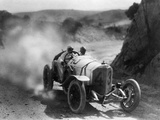 Car Race for the 'Targa Florio' in Sicily, 1922 Metal Print by  Scherl
