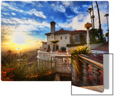 Sunset at Hearst Castle Metal Print by Trey Ratcliff