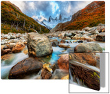 The River Runs Through the Andes Metal Print by Trey Ratcliff