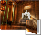 The Lincoln Memorial Metal Print by Trey Ratcliff