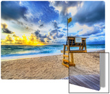 Alone at the Beach Metal Print by Trey Ratcliff